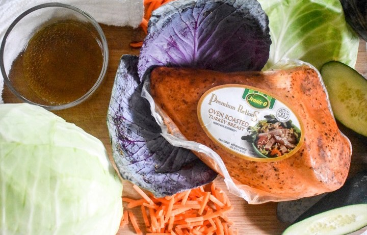 Lunchtime Turkey Lettuce Wraps | Dash of Jazz