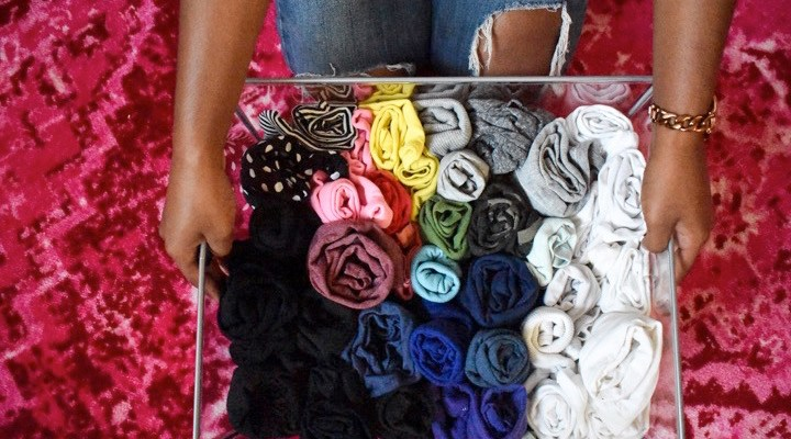 6 Easy Closet Organization Hacks + DIY Cedar Bags