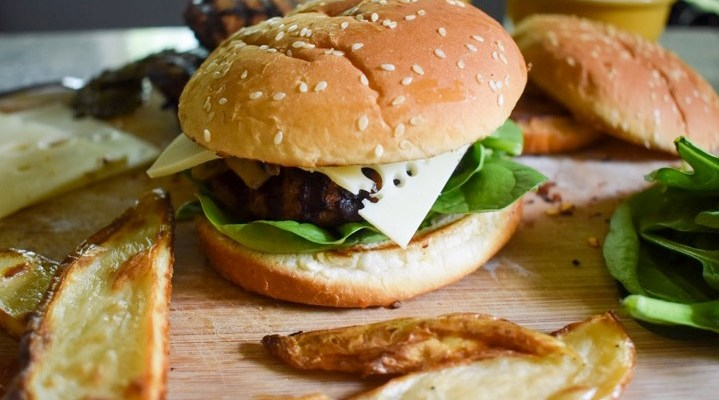 Healthy-ish Homemade Burgers & Fries