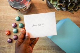3 simple ways to encourage her--whether she is your mother, sister, best friend, or coworker. Check out easy ways to encourage the someone dear to you with Dove chocolate Promises. by Dash of Jazz