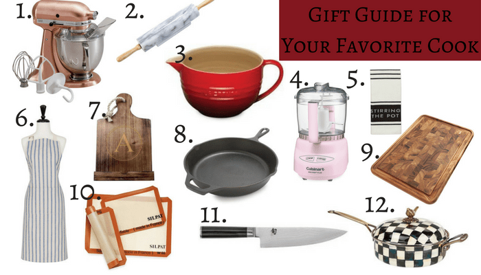 Gift Guide for Your Favorite Cook
