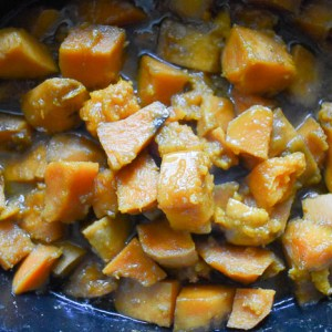 Southern-Style Slow Cooker Candied Sweet Potatoes