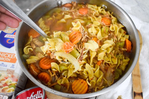 30-Minute Chicken Noodle Soup