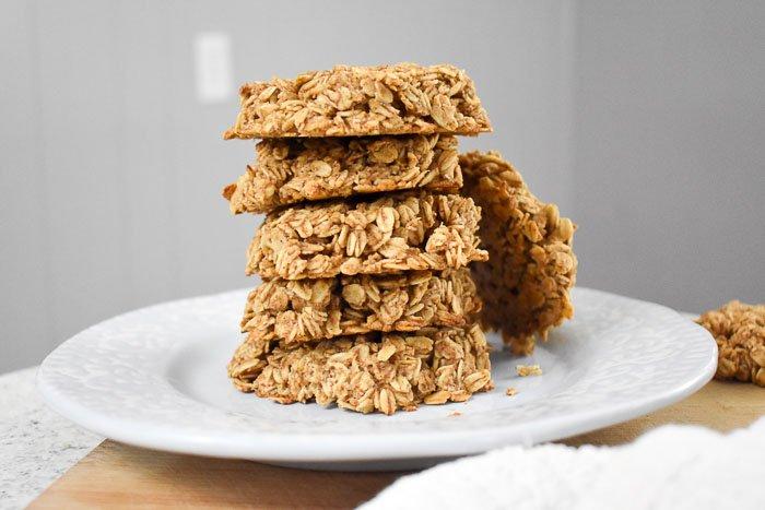 2-Step Healthy Breakfast Cookies (Vegan, GF)