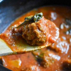 Slow Cooker Turkey Meatballs in Marinara Sauce