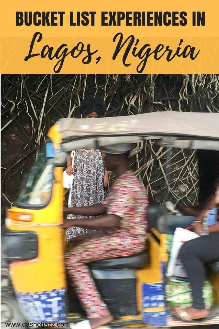 5 Bucket List Experiences in Lagos, Nigeria