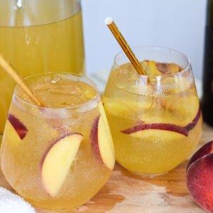 Lemon Ginger Bellini Punch