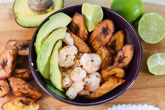 Coconut Lime Shrimp & Plantain Power Bowl