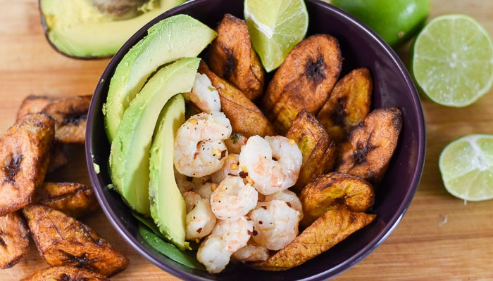 Coconut Lime Shrimp & Plantain