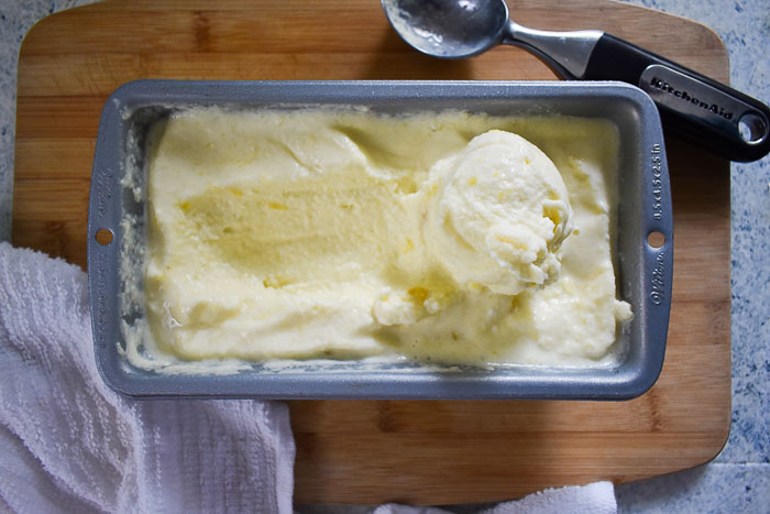 5-Minute Tropical Pineapple Nice Cream (Vegan, GF, DF & No Added Sugar)
