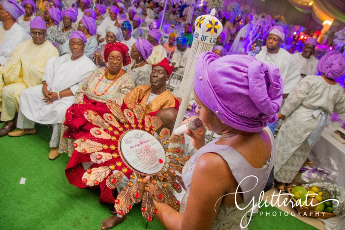 Yoruba wedding ceremony, Lagos, Nigeria