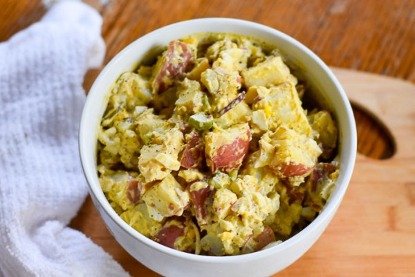 Southern Style Potato Salad with Balsamic Twist