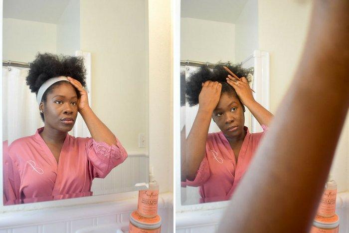 Dash of Jazz parting hair