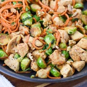 Autumn Harvest Chicken Skillet Dinner