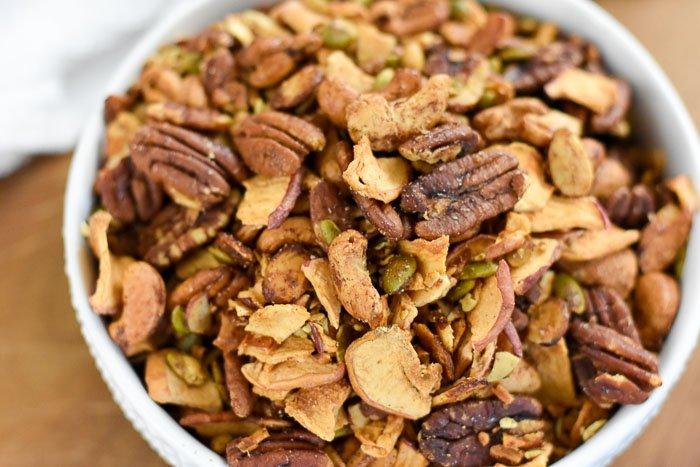 Apple Cinnamon Grain-Free Granola