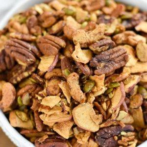 Apple Cinnamon Grain-Free Granola (Paleo)