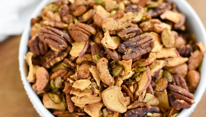 Apple Cinnamon Grain-Free Granola