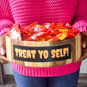 Treat Yo Self Candy Bowl DIY