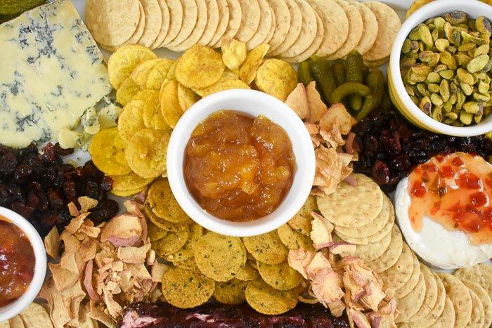 A Fall Trader Joe's Cheese Board