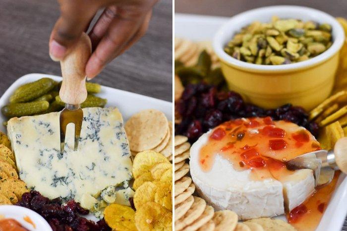fall Trader Joe's cheese board