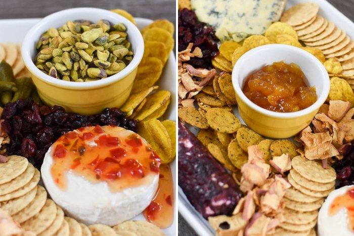 fall Trader Joe's cheese tray