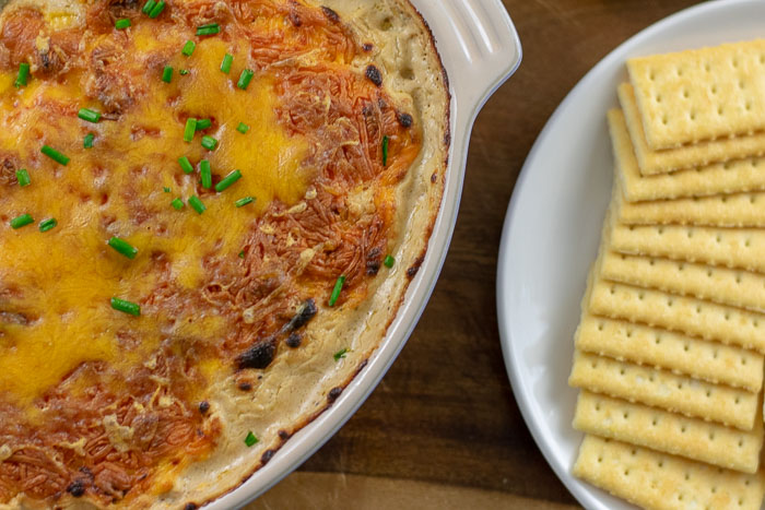 Hot Turkey Sausage Dip