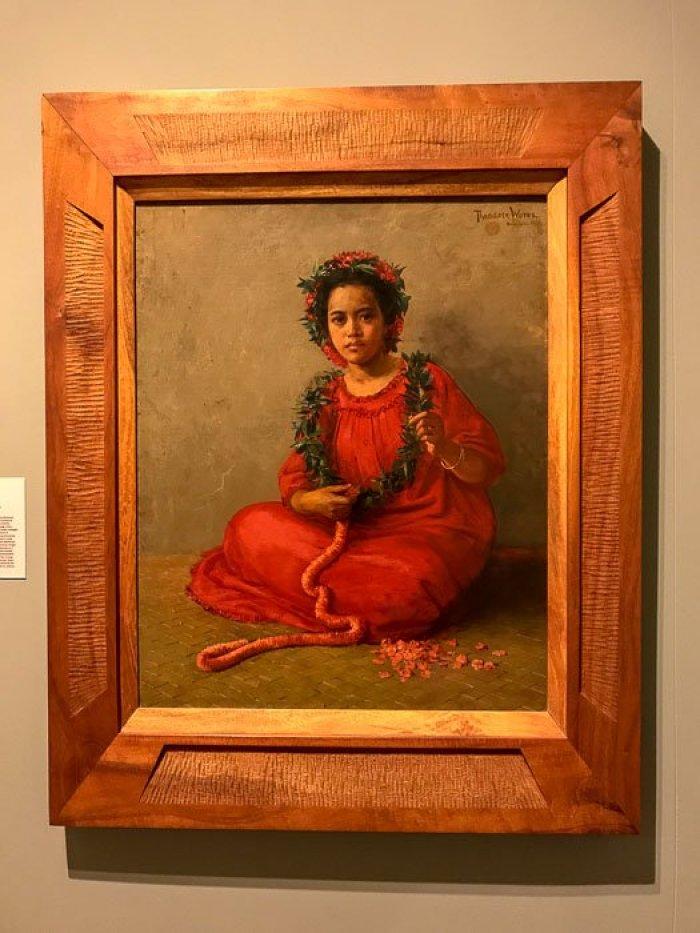 Hawaiian painting at Honolulu Museum of Art