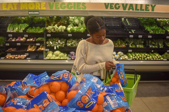Dash of Jazz putting halo oranges in basket