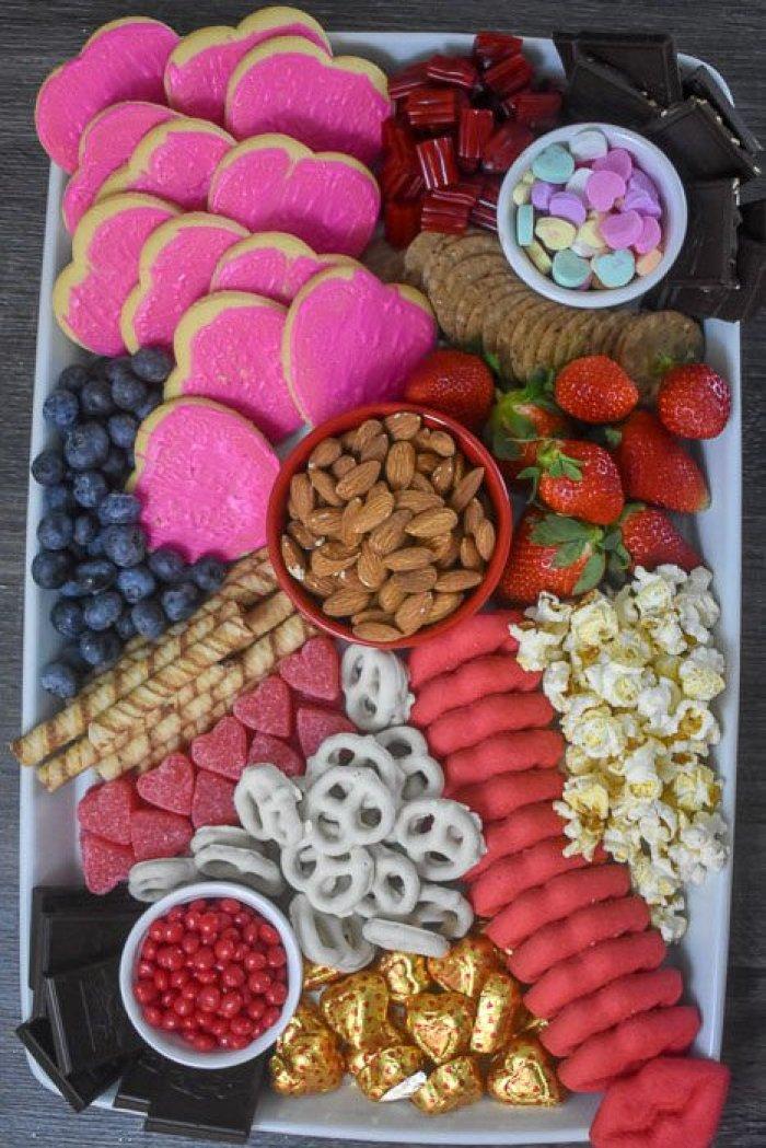Galentine's Dessert Board