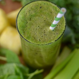 Glowing Skin Sweet Green Smoothie (Vegan)