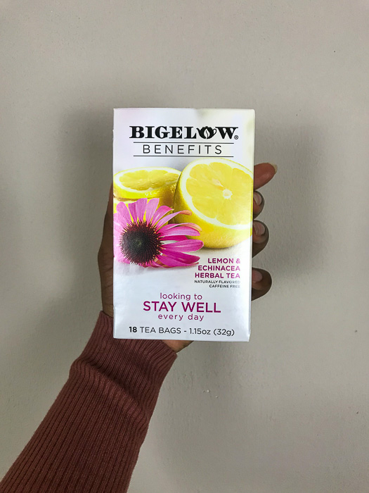 Bigelow Benefits Stay Well Tea