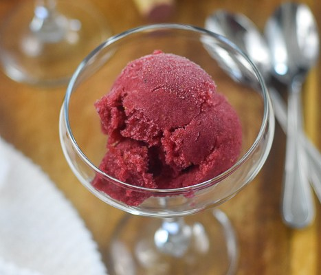 Red Wine Sorbet (Easy No-Churn Method)