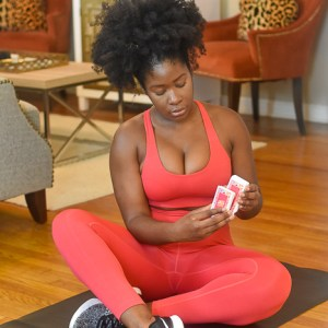 How I'm Staying Fit at Home with Cardio Cards