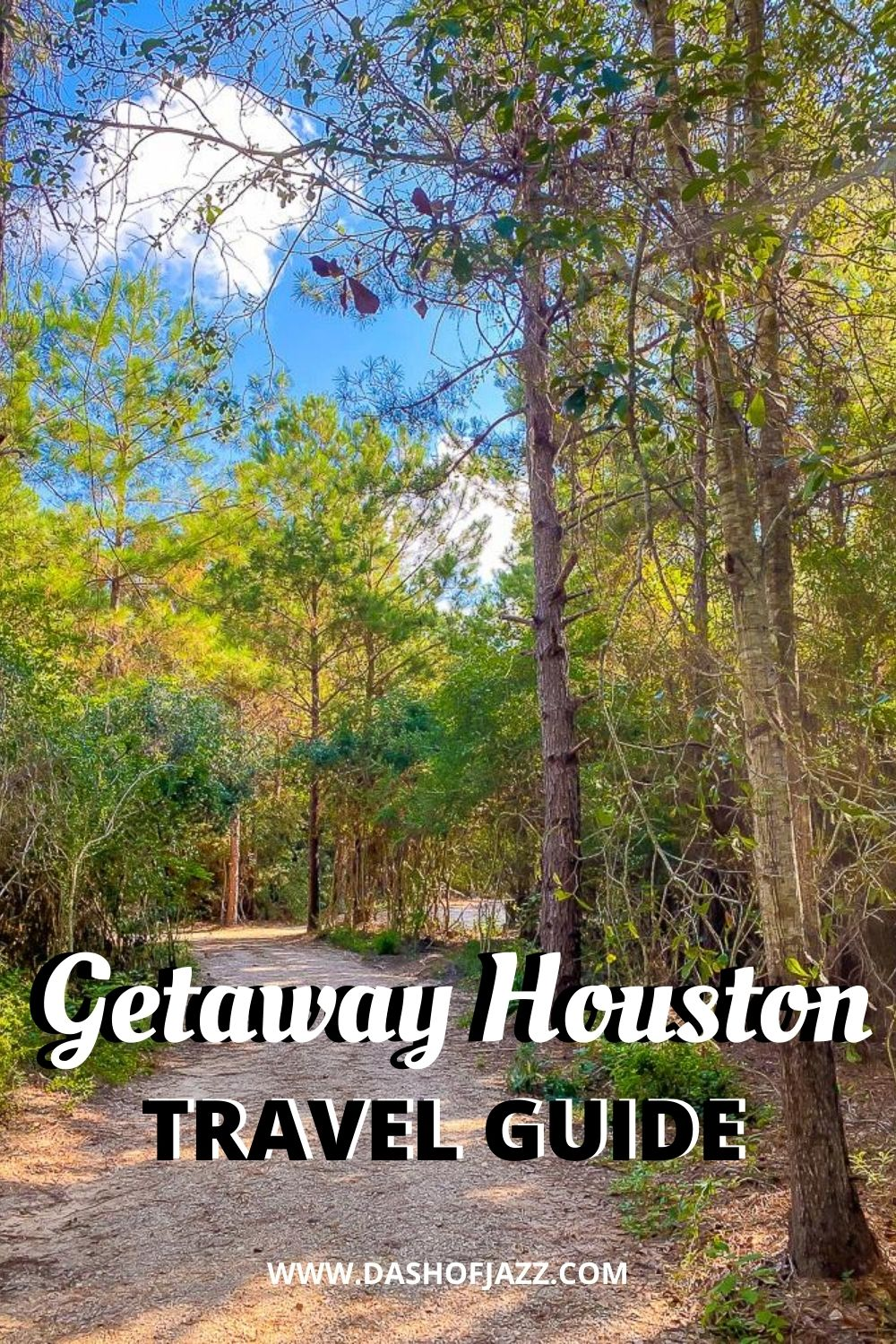 woods at Getaway Houston outpost
