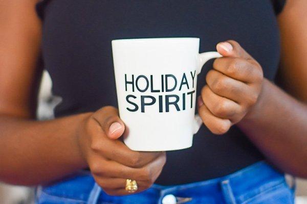 How I Customize Holiday Mugs with Cricut Explore Air 2
