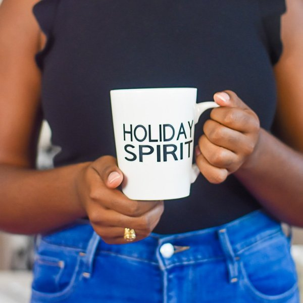 How I Customize Holiday Mugs with Cricut Explore Air 2