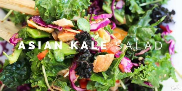 Asian Kale Salad Twitter