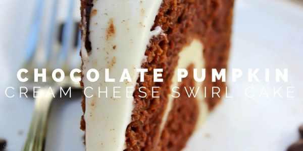 Chocolate Pumpkin Cream Cheese Swirl Cake Twitter