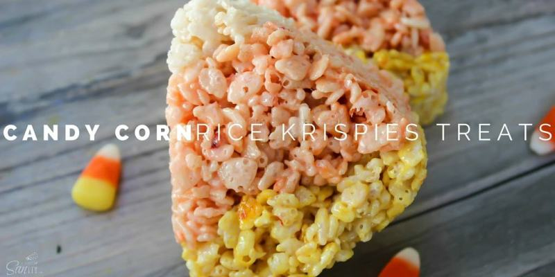Candy Corn Rice Krispie Treats Twitter