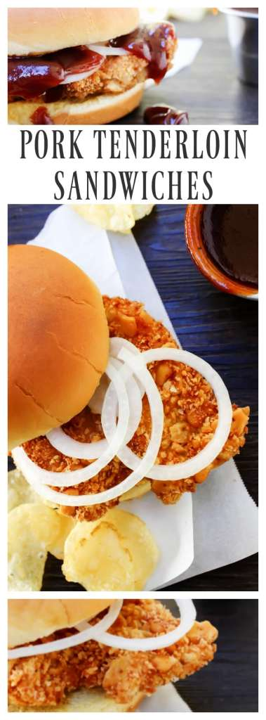 Crispy Pork Tenderloin Sandwiches deliciously crispy on the outside, tender and juicy in the center, these Iowa-inspired sandwiches will become a favorite.