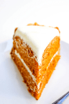 GERMAN CHOCOLATE CARROT CAKE - Layers of carrotcake and cream cheese frosting; slathered in German chocolate frosting making it the best carrot cake ever.