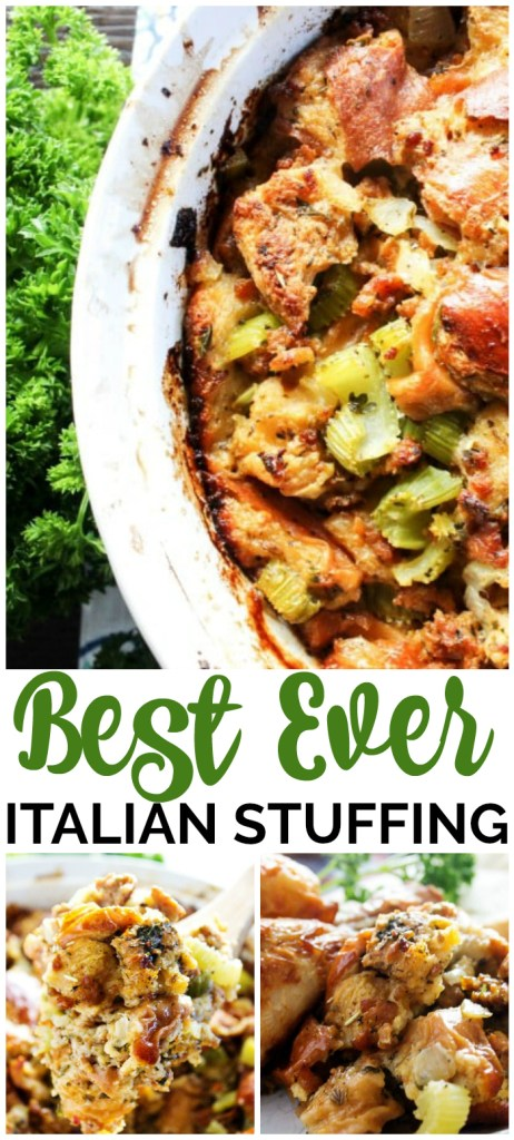 Best Ever Italian Stuffing