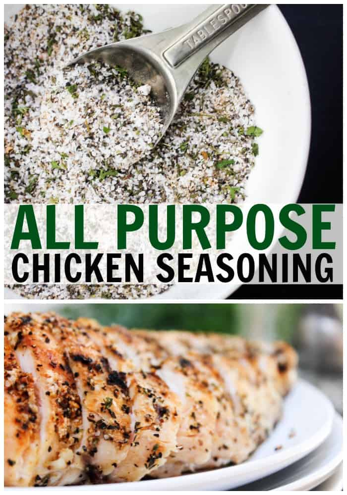 Whether you're grilling, baking, frying this All Purpose Chicken Seasoning made with a variety of spices adds the perfect amount of flavor