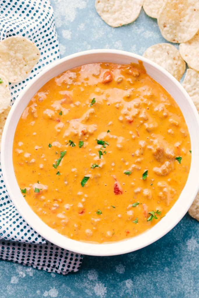 Sausage Queso Dip recipe