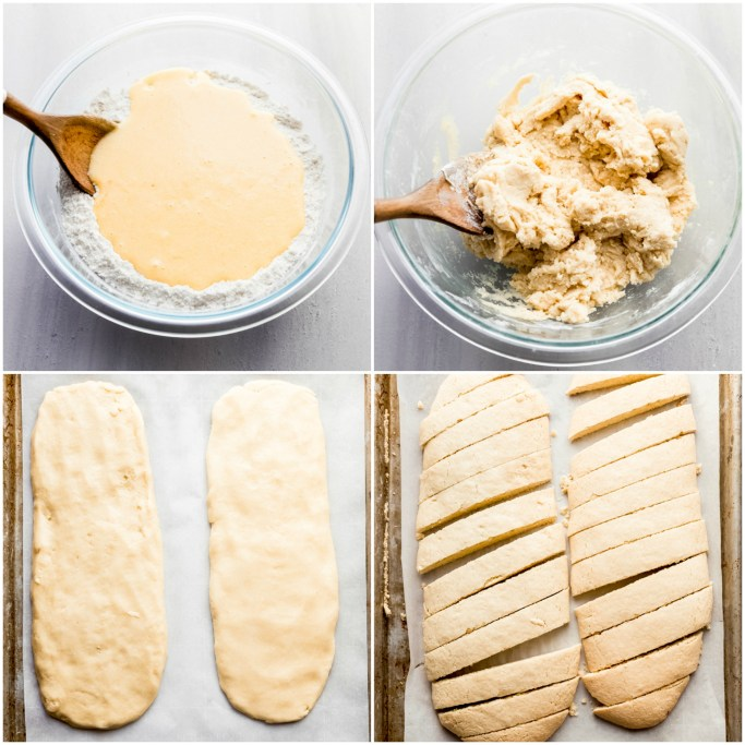 how to make biscotti with butter