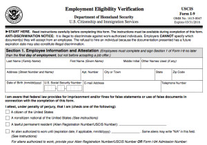 photo about I 9 Form Printable referred to as Careers Verification Style Uscis Reference Letter For