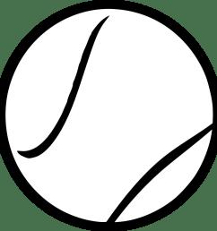 tennis ball clipart black and white steren tennis ball vector clipart [ 885 x 900 Pixel ]