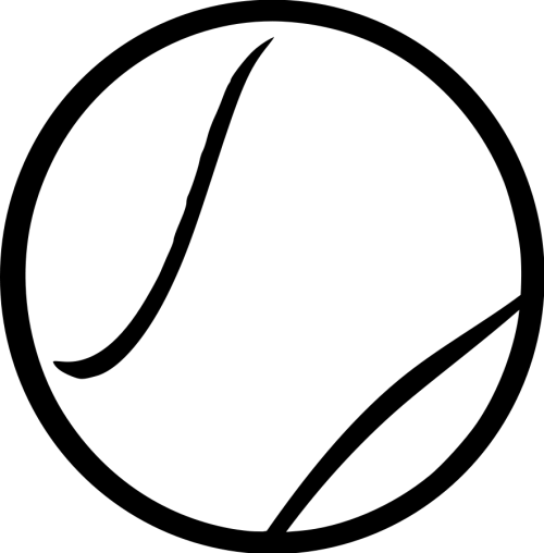 small resolution of tennis ball clipart black and white steren tennis ball vector clipart