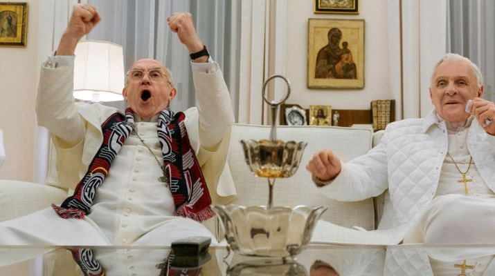 I due Papi, lo schermo per la realtà e per due grandi attori