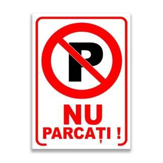 nu parcati